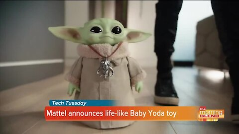 TECH TUESDAY: Life-like Baby Yoda toy & water on the moon
