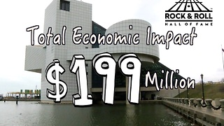 Rock Hall's long term economic impact on Cleveland - Video