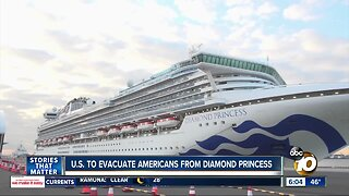 U.S. to evacuate Americans from cruise ship