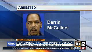 Son charged in mother's murder in Dundalk - Video
