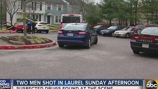 2 men shot in Laurel Sunday afternoon - Video
