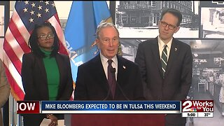 Mike Bloomberg expected to visit Tulsa this weekend