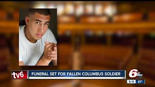 Funeral set for fallen Columbus soldier - Video