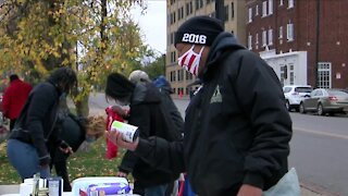 Healing Hub of NY distributes food, other necessities to those in need
