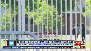 KHSD changes bullying policy to protect students' immigration status