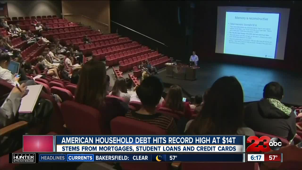 American Household Debt Hits Record High at $14T
