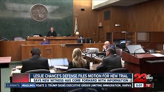Leslie Chance's defense files motion for new trial