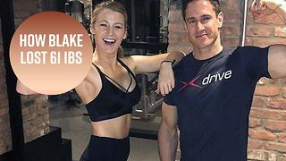 Blake Lively's training looks like a piece of cake - Video