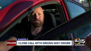 Lyft driver encounters wrong-way driver on highway