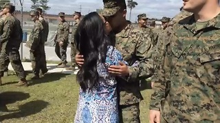 My Marine's Homecoming - Video