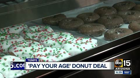 Hurts Donut Tempe offers 'Pay Your Age' promotion