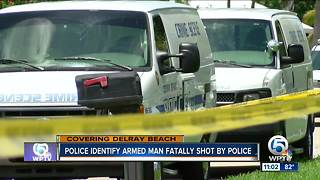 Police fatally shoot armed man in Delray Beach - Video