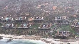 Caribbean Tour Helicopter Pilots Assess Damage Across the Islands - Video