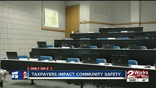 Renovations to Tulsa Police Academy halfway complete - Video