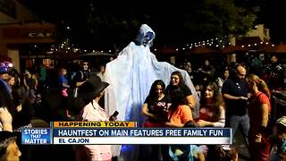 El Cajon's Hauntfest on Main offers free family fun for Halloween - Video