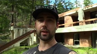 Explorer Documents Abandoned Mansion in British Columbia, Canada - Video