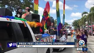 Pride Fest held in Lake Worth - Video