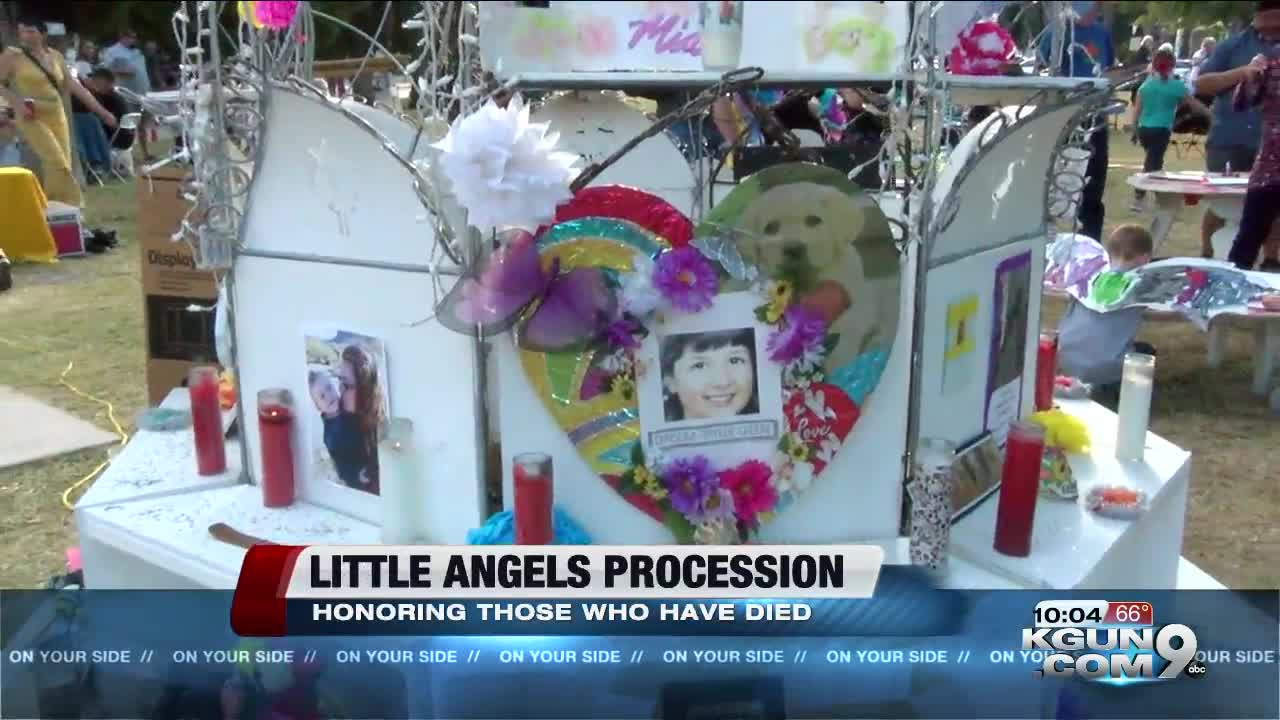 Procession of Little Angels