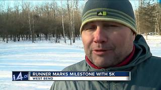 Runner Marks Milestone with 5K - Video