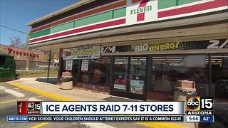 Immigration enforcement officers targeting 7-Eleven stores - Video