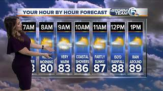 South Florida Tuesday morning forecast (7/10/18) - Video