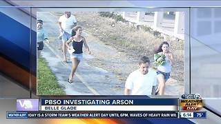 5 people sought in Belle Glade arson - Video