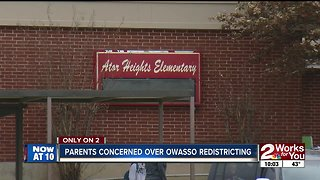 Parents concerned over Owasso redistricting