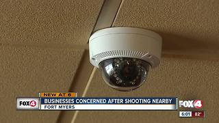 Nearby businesses concerned after shooting - Video
