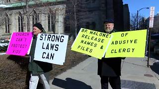 I-TEAM: Survivor calls on Bishop Malone to release names and files of abusive priests - Video