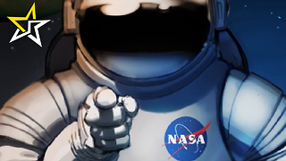 Retro NASA Posters Advertise What Possible Jobs Will Be Needed On Mars - Video