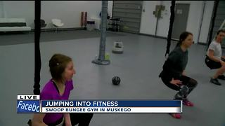 Swoop bungee gym offers unique workout
