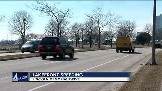 Speeders targeted along Milwaukee's lakefront - Video