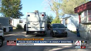 One dead, another hurt after shooting in Independence - Video