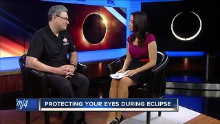 Doctor warns staring at the eclipse could blind you - Video
