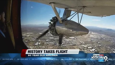 Trimotor: 90-year-old Airliner flies Tucson Skies ft. Craig Smith
