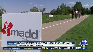 'Walk Like MADD' Saturday in Denver to combat drunk driving