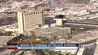 Grand re-opening of Palace Station