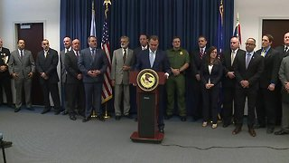 Authorities give update on 'Strike Force' targeting drug trafficking and violent crime - Video