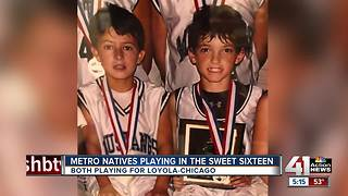 2 former Blue Valley Northwest students now playing in Sweet 16 for Loyola-Chicago - Video