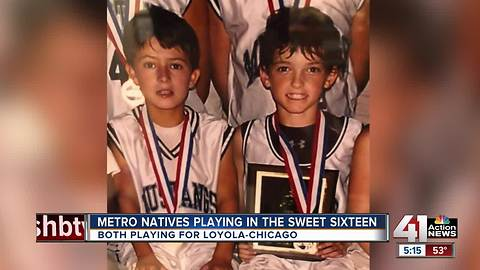2 former Blue Valley Northwest students now playing in Sweet 16 for Loyola-Chicago