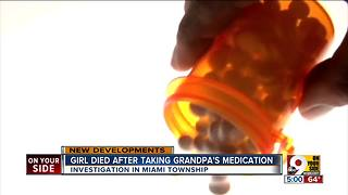 Miami Township police investigate girl's death after she took medication - Video