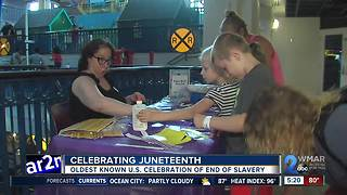 Port Discovery celebrates Juneteenth - Video