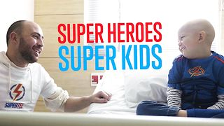 SuperTee: Helping kids fight back & get better - Video