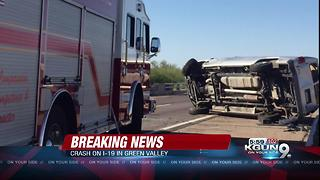 Crews responding to serious collision on NB I-19 - Video
