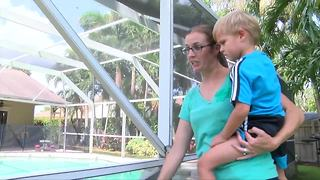 Pool safety is a priority for Royal Palm Beach mom after Hurricane Irma