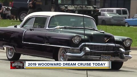 25th anniversary of the Woodward Dream Cruise is Saturday