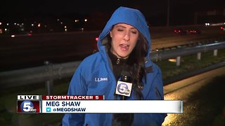 Icy conditions in Canton - Video
