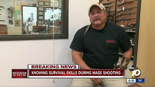 SEAL veteran shares tips to escape mass shooting - Video