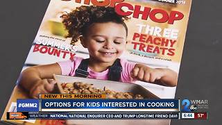 Getting kids involved with cooking meals