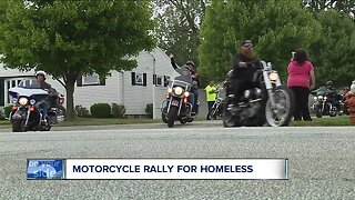 Motorcycle rally held to raise money for Cleveland homeless community